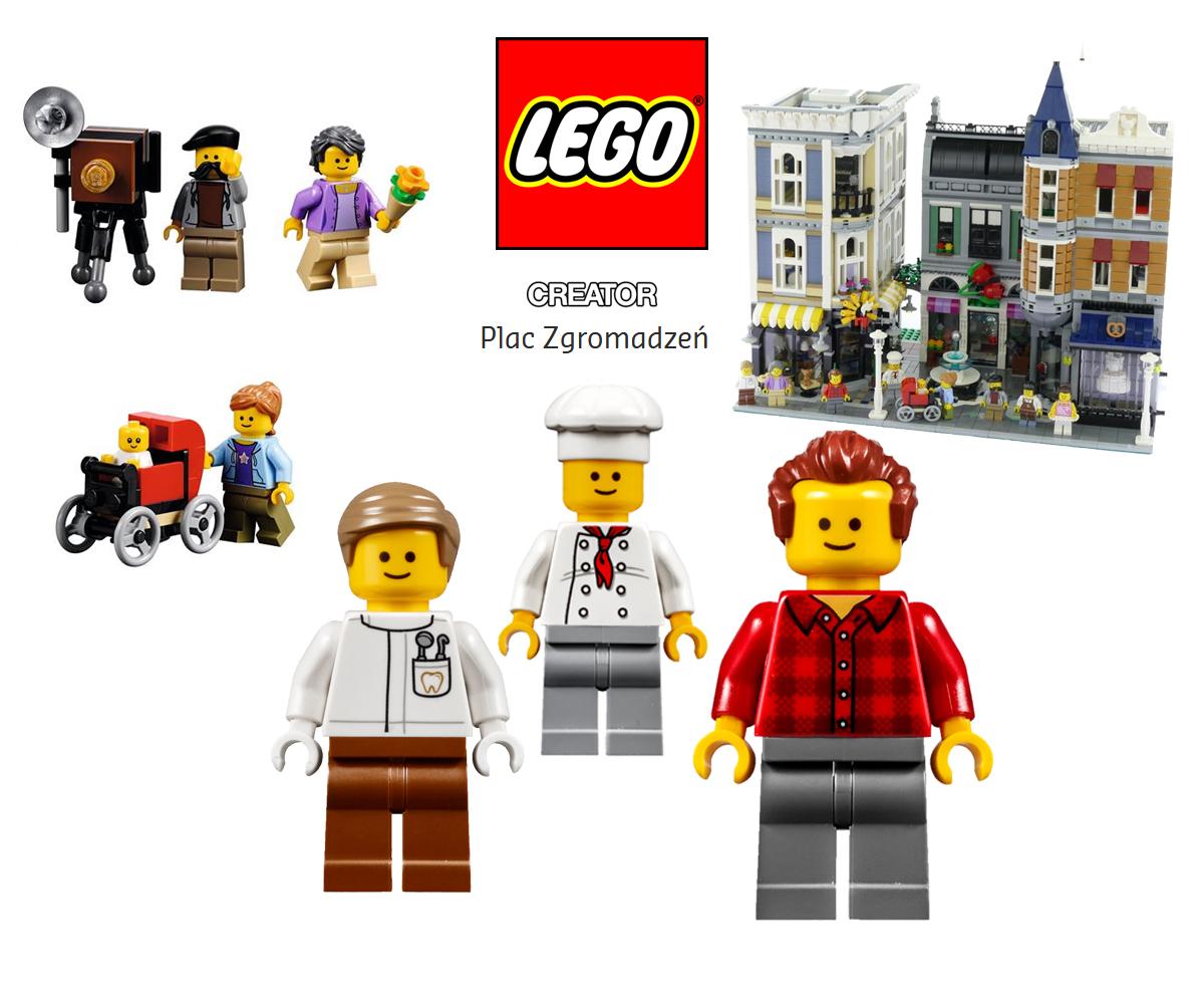 Lego Creator 10255 Plac Zgromadzeń Nowość 2017 Ko24